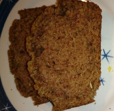 cropped zucchini bread