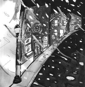 Kaddish 4 - Illustration by Jacob Shore